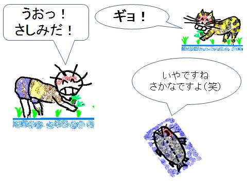 うおマンガ絵