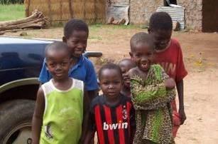田舎の子供たちベナン