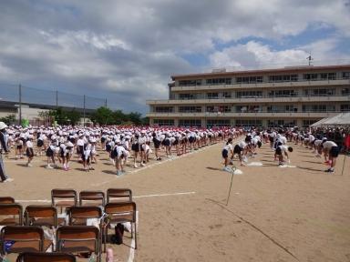 田上小学校の代運動会