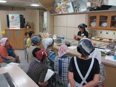 もちのき学級の調理実習