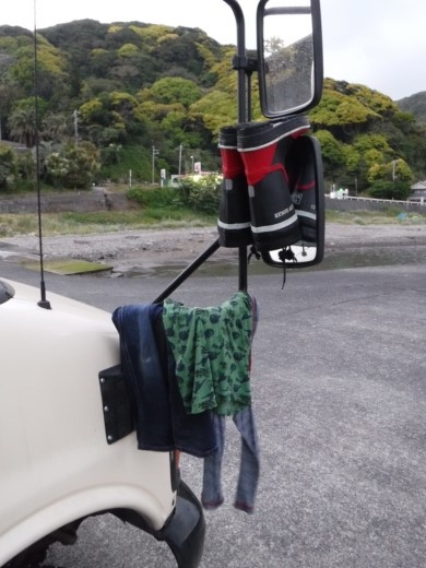 漁港でキャンプ (9)