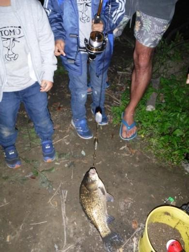多摩川登戸釣り (30)