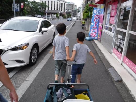 別所沼公園雑魚釣り (4)