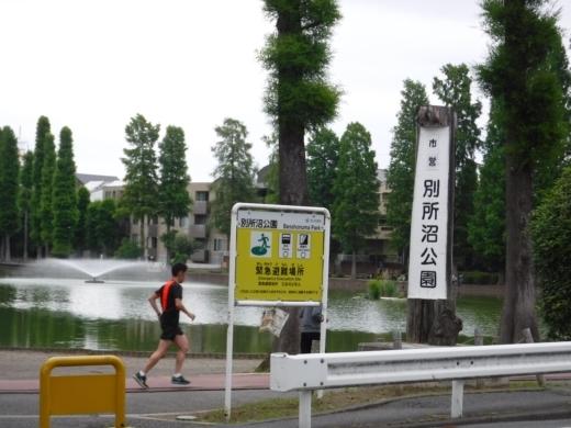 別所沼公園雑魚釣り (5)