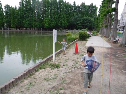 別所沼公園雑魚釣り (27)