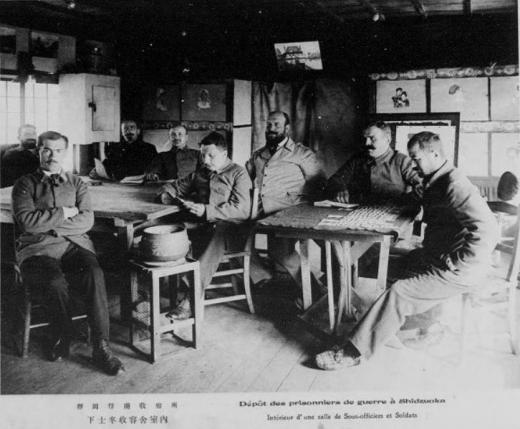 ドイツ兵捕虜静岡収容所下士官収容官舎1