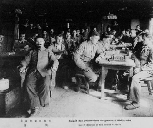 ドイツ兵捕虜静岡収容所娯楽1