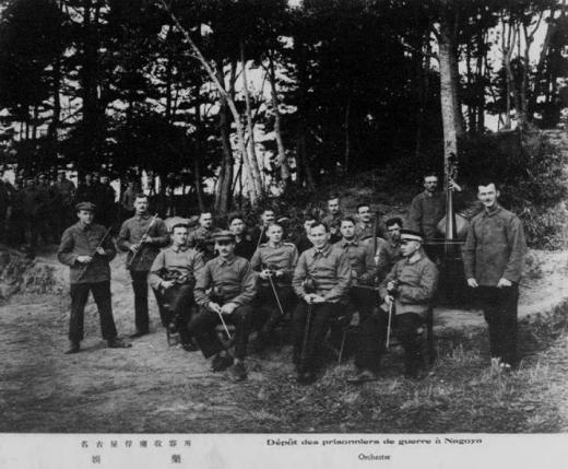 ドイツ兵捕虜名古屋収容所娯楽1