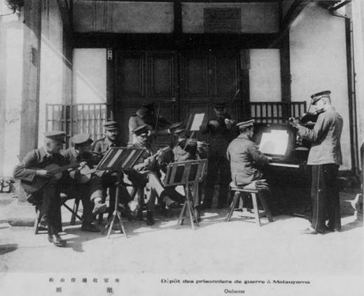 ドイツ兵捕虜松山俘虜収容所娯楽1