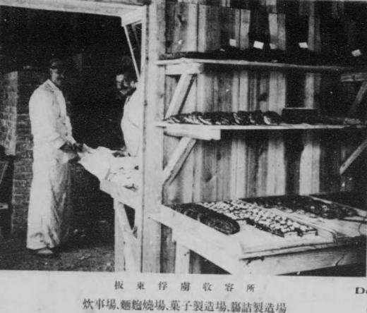 ドイツ兵捕虜坂東収容所菓子製造1