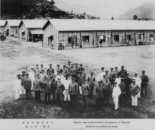 ドイツ兵捕虜坂東収容所准士官1