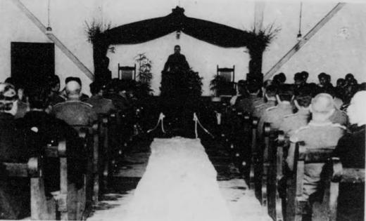 ドイツ兵捕虜名古屋収容所葬儀2