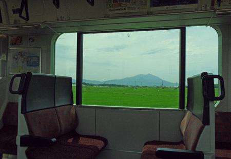 筑波山@水戸線より