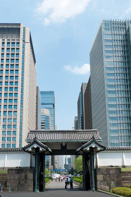 江戸城大手門(高麗門)