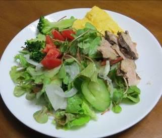 生野菜サラダ5月上旬