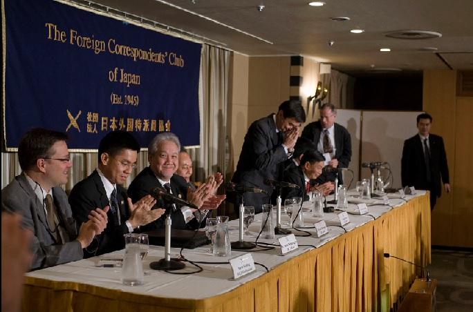 2017-6-8外国特派員協会の記者会見の様子
