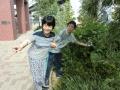 即興で庭を散策するマクベスと夫人