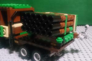 RM-122 ロケットランチャー細部