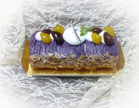 マロン・紫いもロ-ル