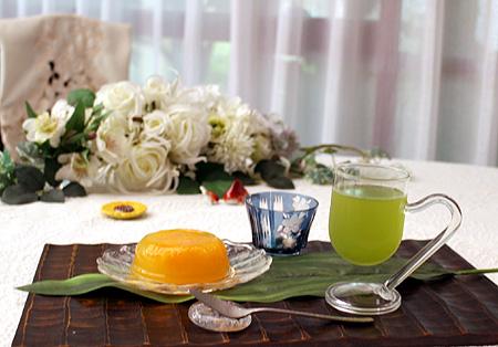 水出し煎茶デコポンゼリ-