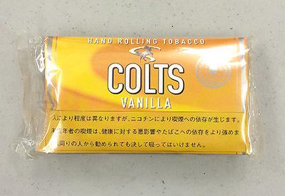 COLTS_VANILLA COLTS コルツ・バニラ コルツ 手巻きタバコ シャグRYO