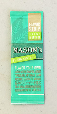 MASONS_FLAVORSTRIP_FRESH MENTHOL メイソンズ フレイバーストリップ・フレッシュ・メンソール 手巻き