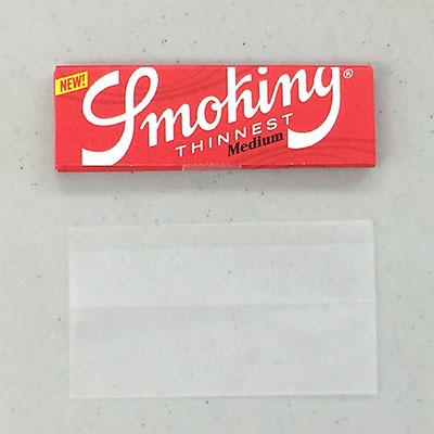 Smoking_THINNEST 手巻きタバコ 巻紙 ローリングペーパー スローバーニング