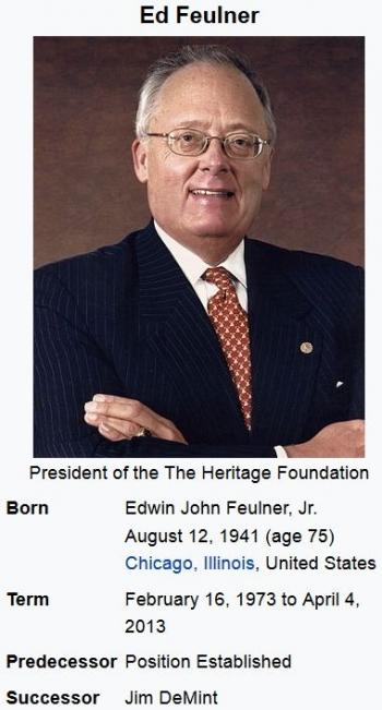 wikiEdwin Feulner
