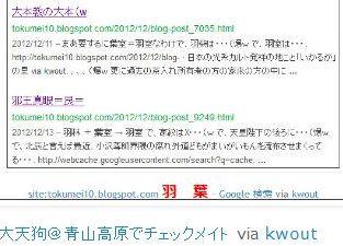 tok大天狗@青山高原でチェックメイト