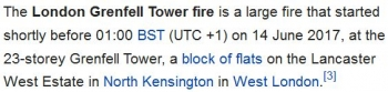 wikiGrenfell Tower fire