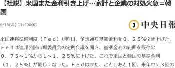 news【社説】米国また金利引き上げ…家計と企業の対処火急=韓国