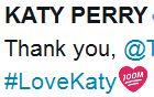 #LoveKaty