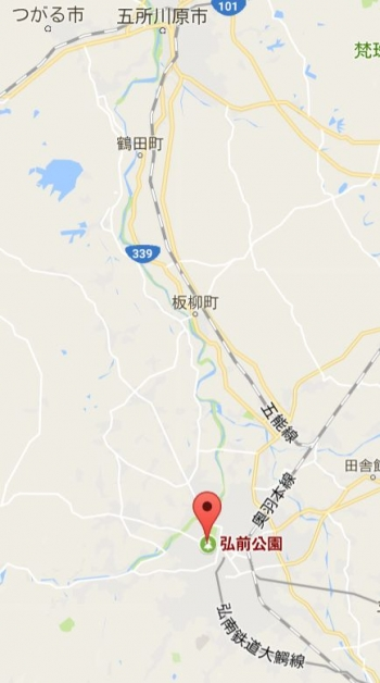 map弘前公園