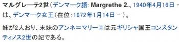 wikiマルグレーテ2世 (デンマーク女王)