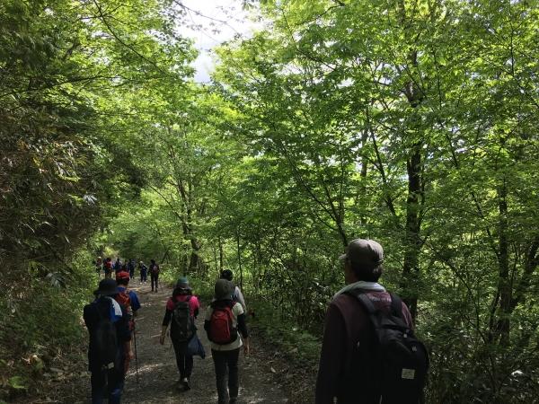 170527-小秀山登山の下山