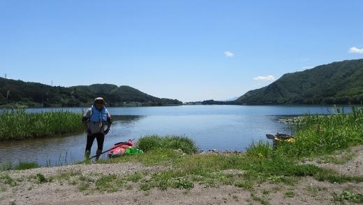 6_15木崎湖で森さんとカヌー (11) (520x293)