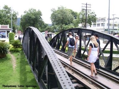 タイの写真 SRT(タイの国鉄)トンブリー駅→カンチャナブリ駅→クウェー鉄橋駅 2009年6月5日※世界同時不況直後