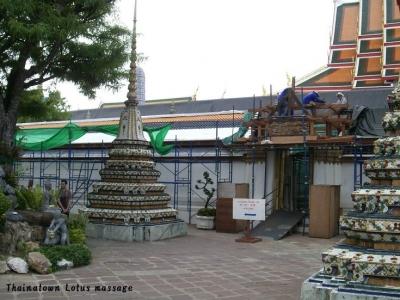 タイの写真「ワット・ポー(タイ古式マッサージの総本山)」