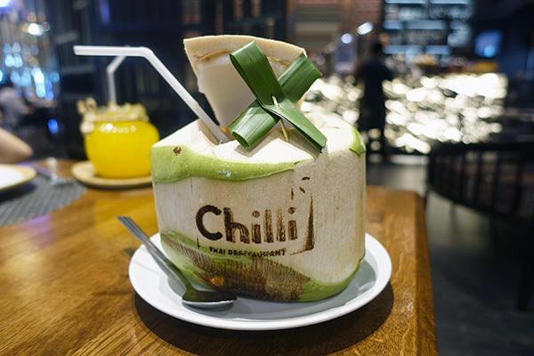 cafe chilli_カフェチリ_サイアムパラゴン_タイ料理_バンコク01