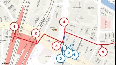 高田馬場レンタルスペース地図1