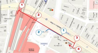 KIZUNA高田馬場地図1