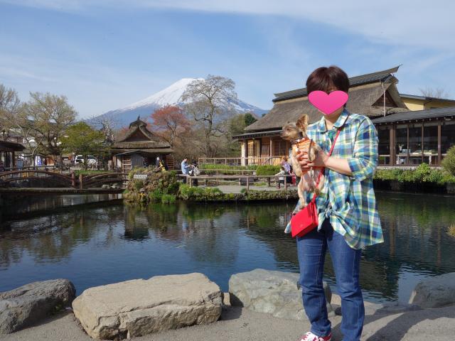 b_017富士山と二人