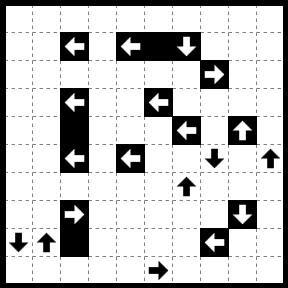 流れるループ 021