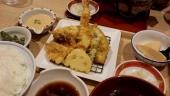 金目鯛と春野菜