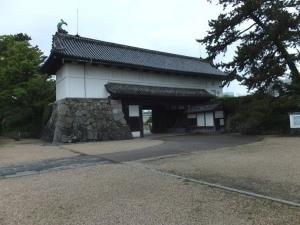 佐賀城/04鯱の門内側