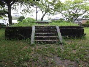 [筑後]福島城/櫓台の上