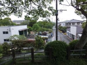 [筑後]福島城/櫓台より