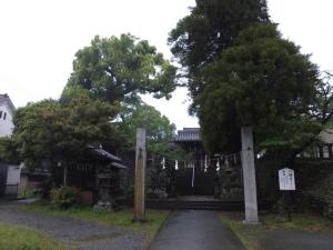 [筑後]福島城/福島八幡宮