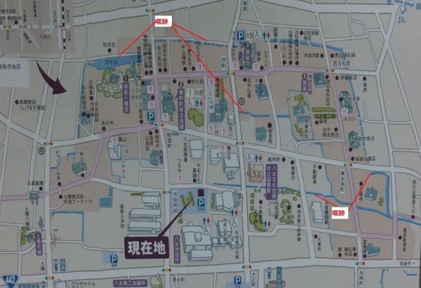 [筑後]福島城/八女案内