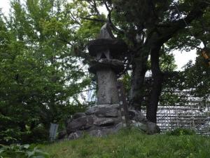 柳川城/21石碑